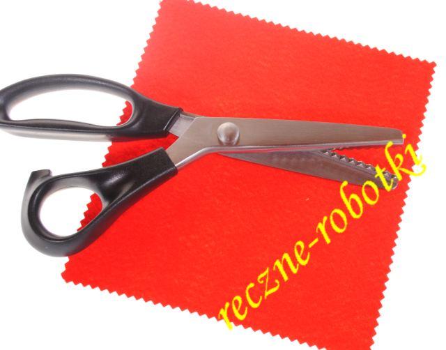 Nożyczki Krawieckie Zig Zag